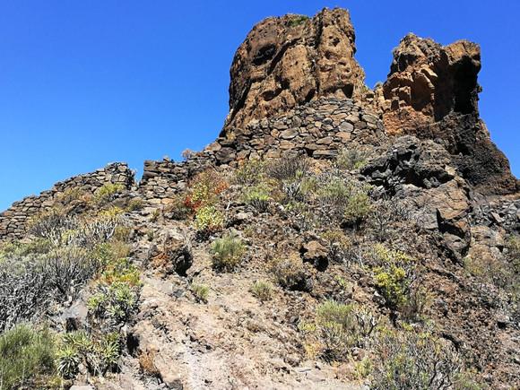 La Palma, Ureinwohner Roque-Bentayga-Maue