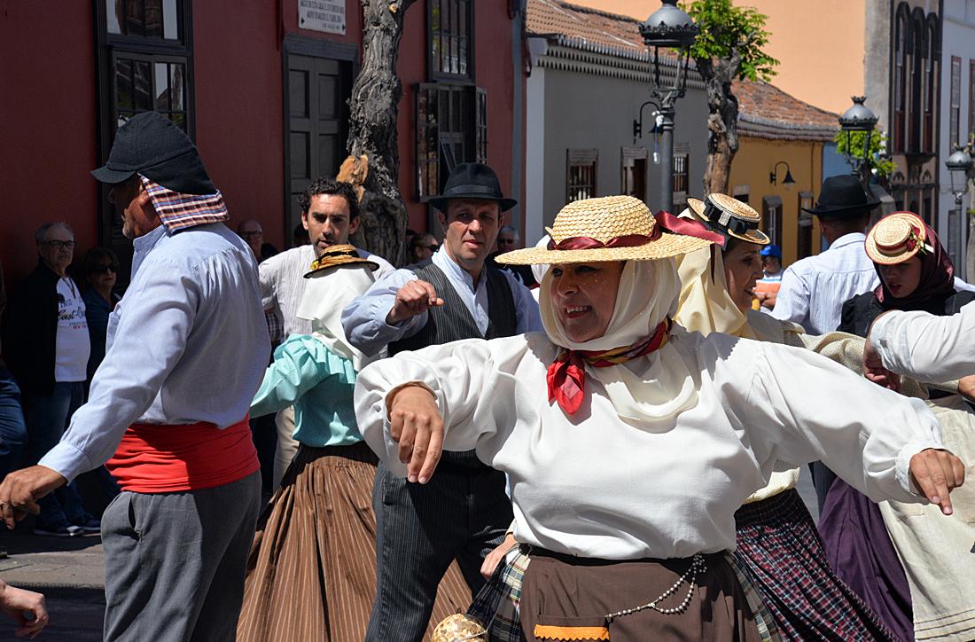 La Palma, Kultur, Straßenfest