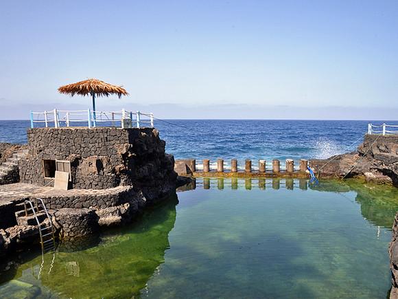 La Palma, Charco Azul, Meerwasser Schwimmbecken