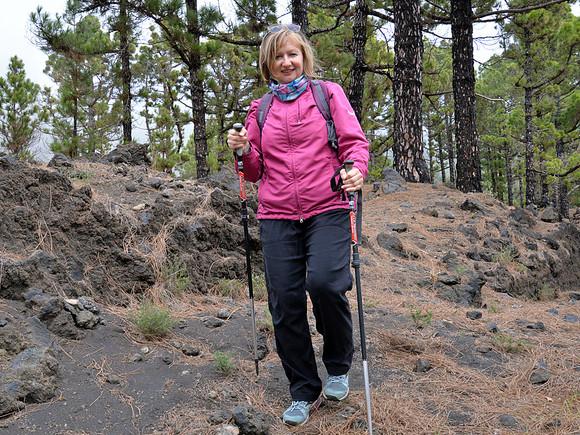 La Palma, Wanderung mit Christel