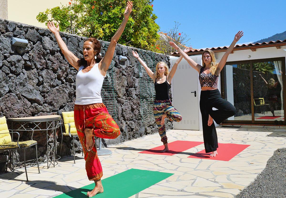 La Palma, Yoga Shooting