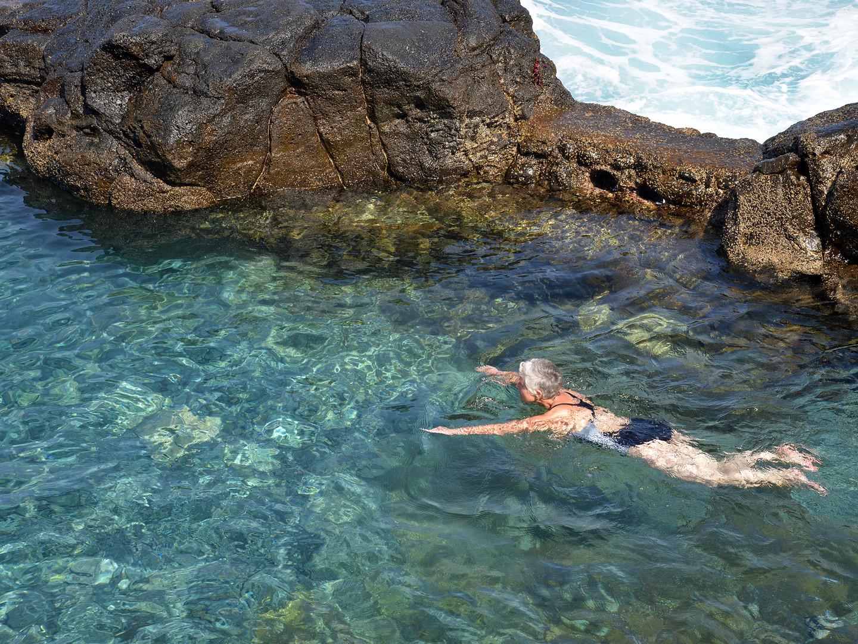 La Palma, Fotoausflug, Charco Azul