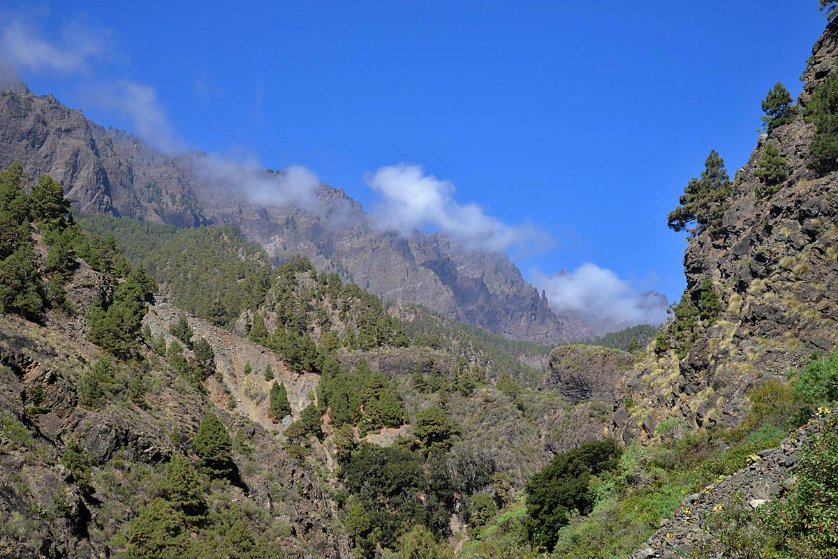 La Palma, Barranco de las Angustias