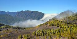 La Palma, Wolkenwasserfall