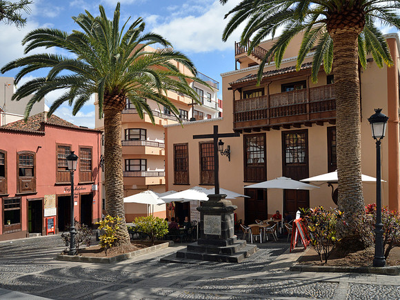 La Palma, Plaza Santa Cruz