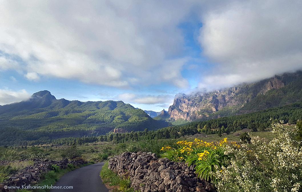 La Palma, Fototour unter'm Wolkenwasserfall
