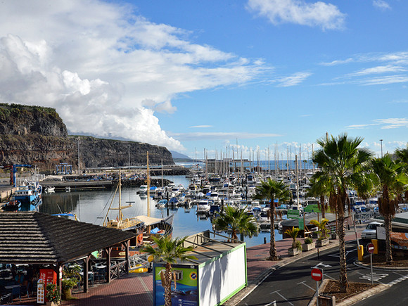 La Palma, Tazacorte, Hafen