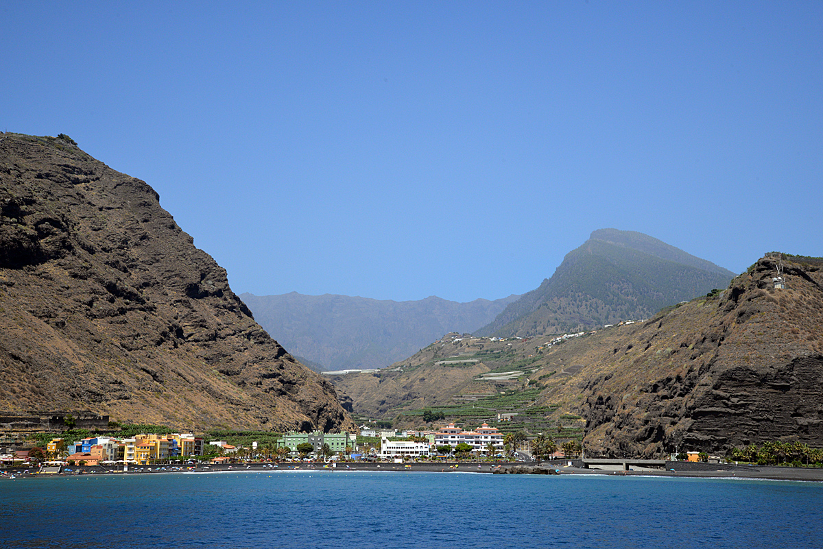 La Palma, Tazacorte, Bootstour