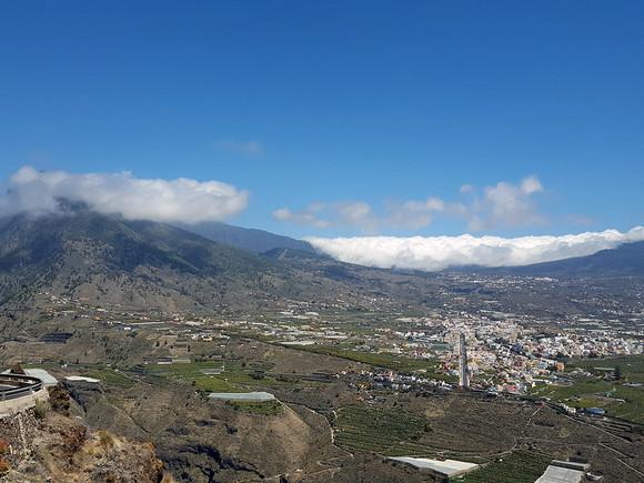 La Palma, Mirador el Time, Blick ins Aridanetal