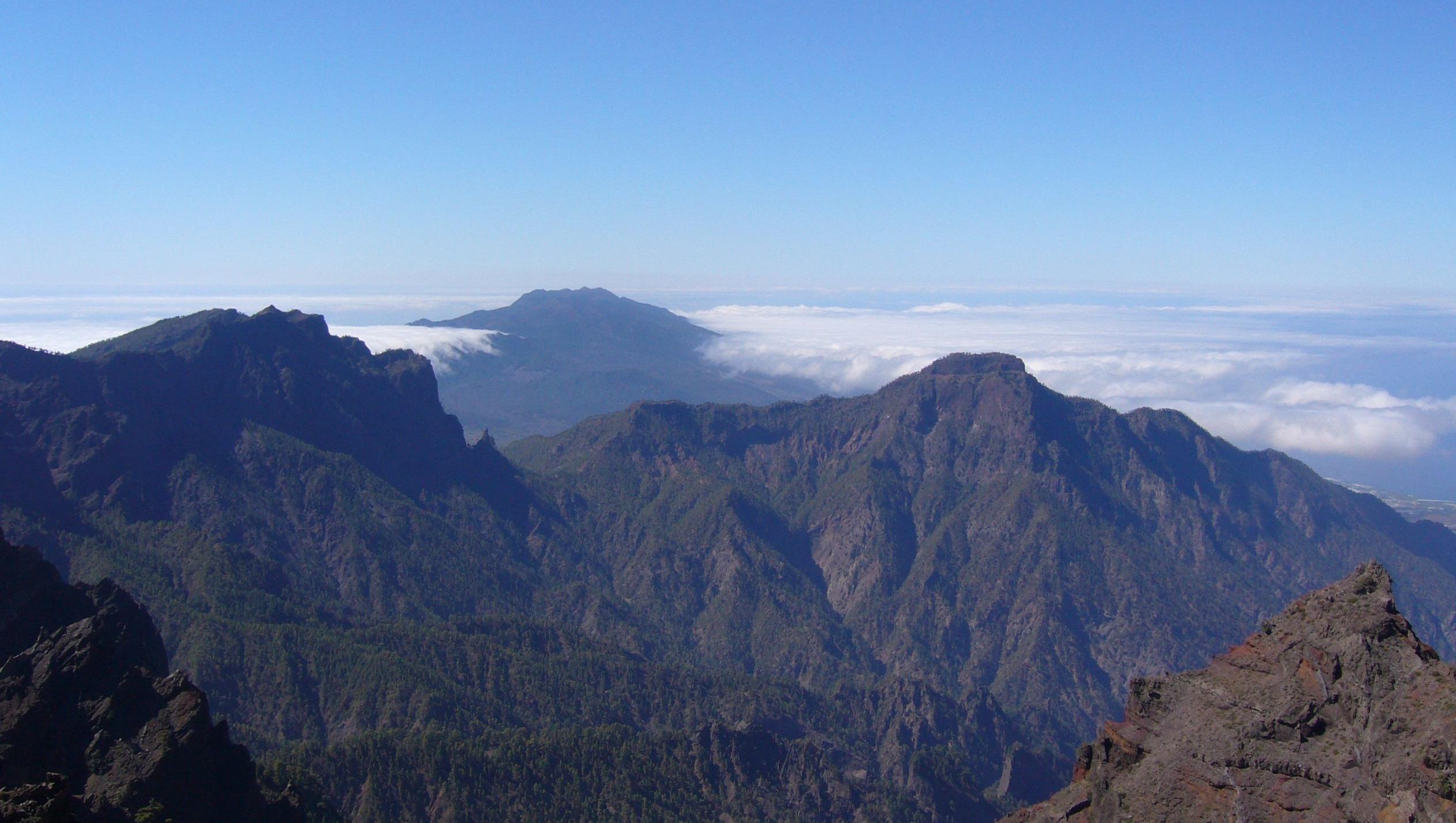 La Palma, Caldera, Roque de los Muchachos