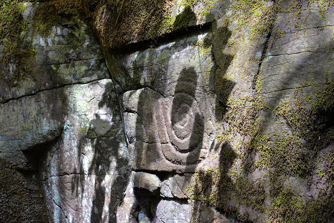 La Palma, Felszeichnung, Spirale, Ureinwohner