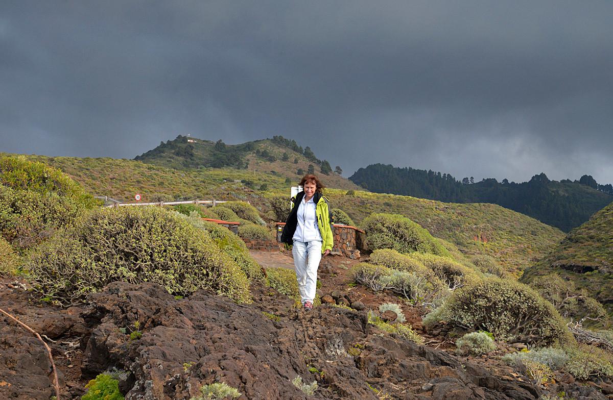 La Palma, Fotoshooting, grüner Norden