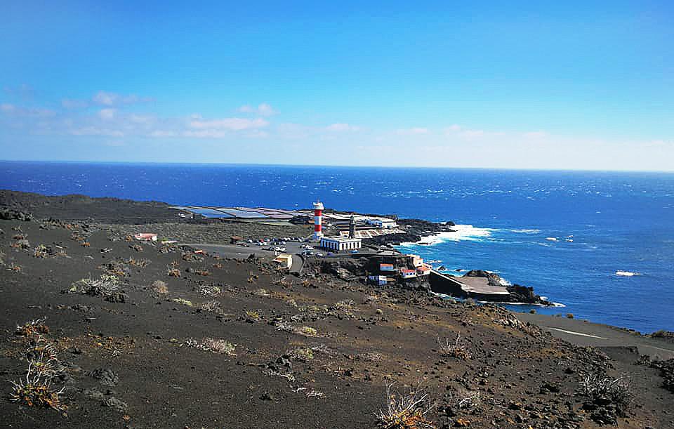 La Palma, Fuencaliente, Faro, Salinen