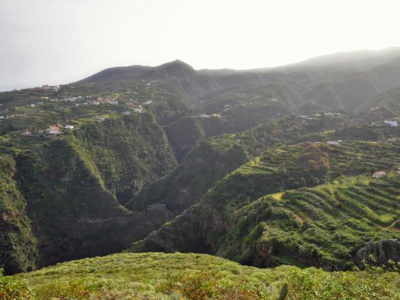 La Palma, der grüne Osten, Barrancos