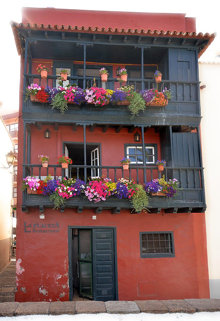 La Palma, Balkone, Blumen