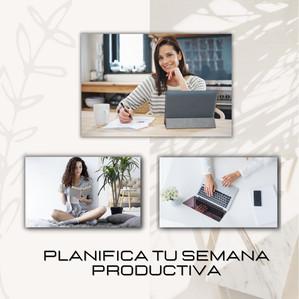 Planifica tu semana productiva