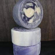 Round Lavender Soap Bar.JPG