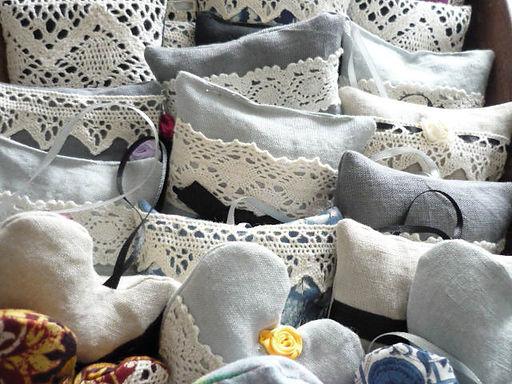 Sewn Items lavender bags