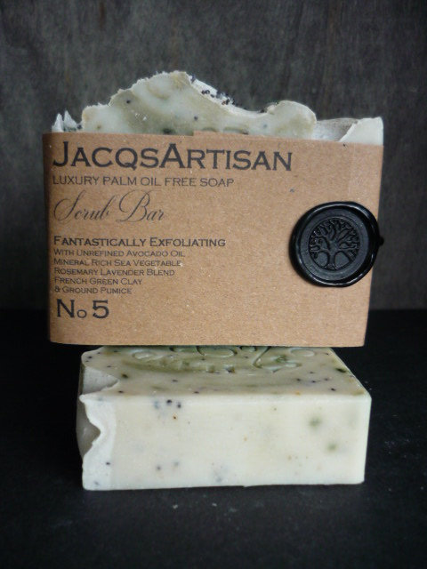 No. 5 Exfoliating or hard working hands Soap