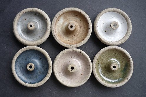 Hand thrown Ceramic Incense Stick Holders