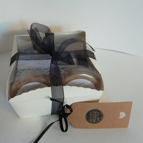 Medium size gift soap box