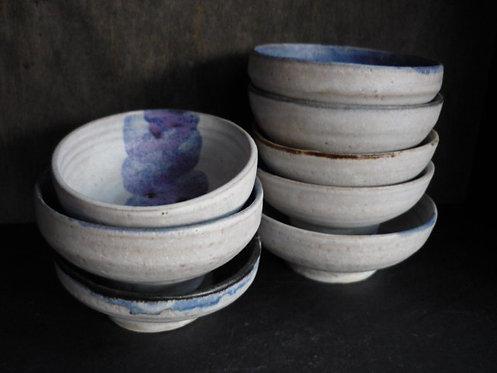 Large Round Ceramic Draining Soap Dishes