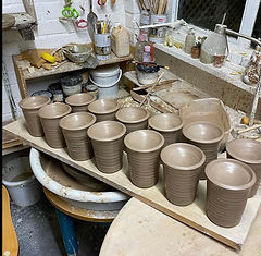 Old Brehouse Pottery Pre Fired oil burne