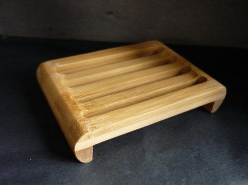 Bamboo slatted Draining soap dish