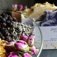 Botanicals in soaps.JPG