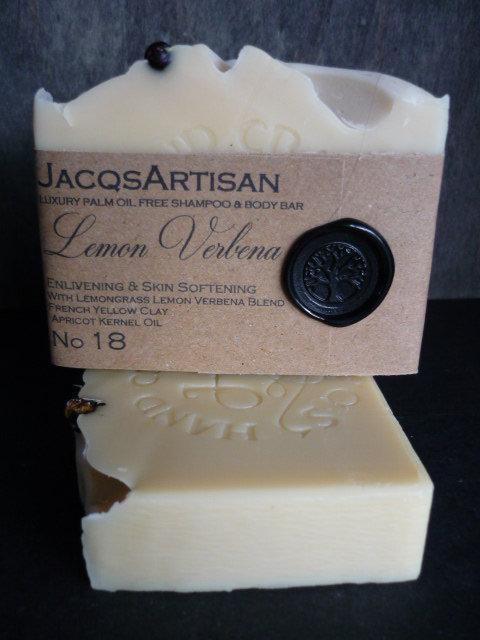 Lemon verbena Soap large