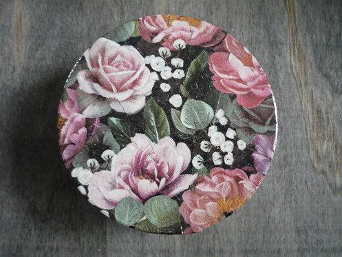Purple Rose Decoupage