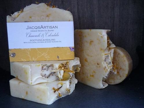 Chamomile & Calendula  Soap large 120g bar
