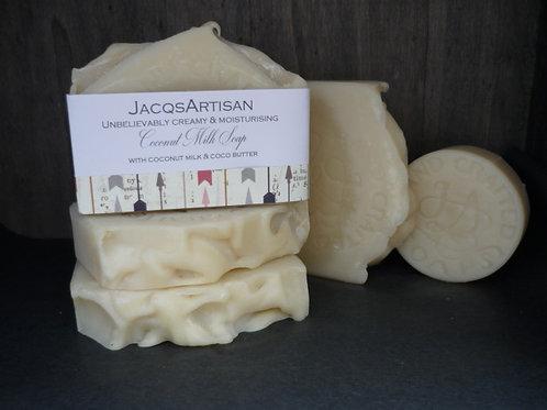 Coconut Milk soap bar large 120g