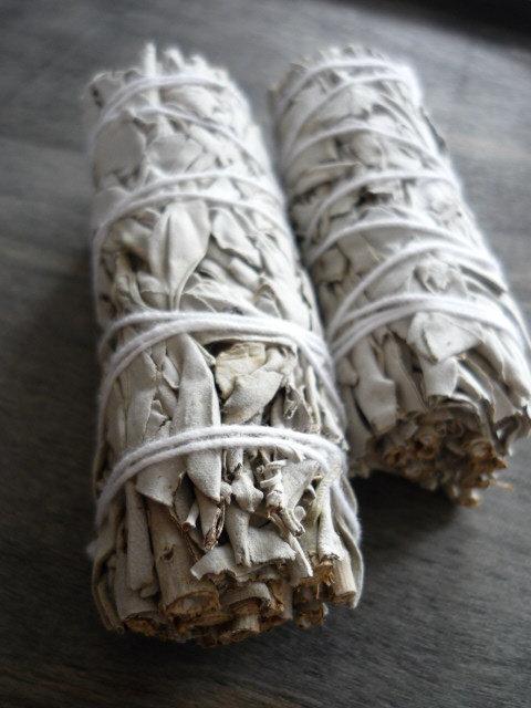 "White Sage Smudge Stick 4"""