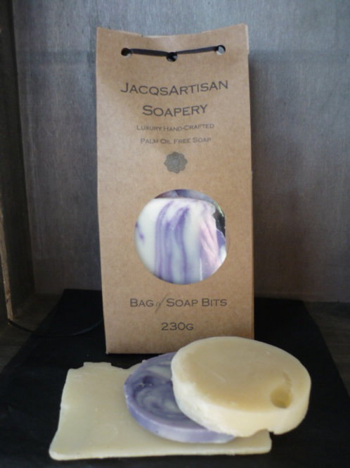 JacqsArtisan Bag of Soap Offcuts