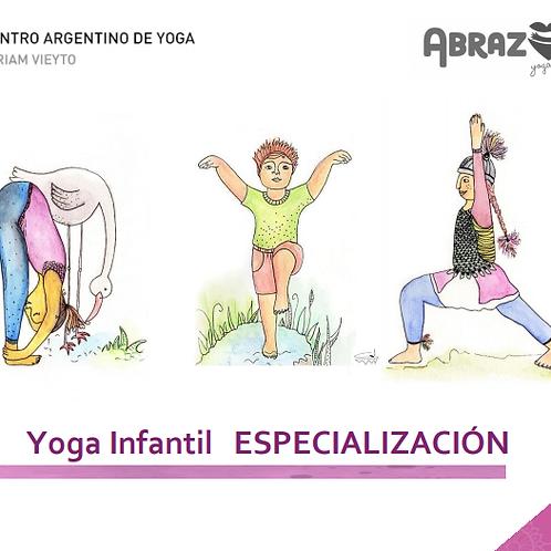 Especialización en Yoga Infantil