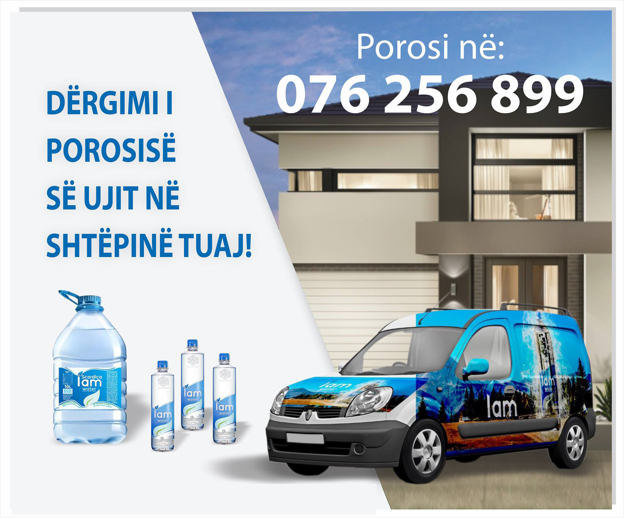 Water delivery servise