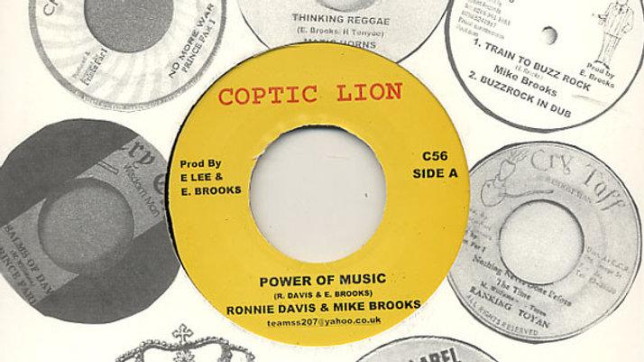 Ronnie Davis&Mike Brooks–Power Of Music