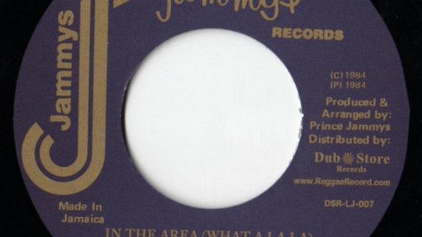 Johnny Osbourne–In The Area (What A La La)