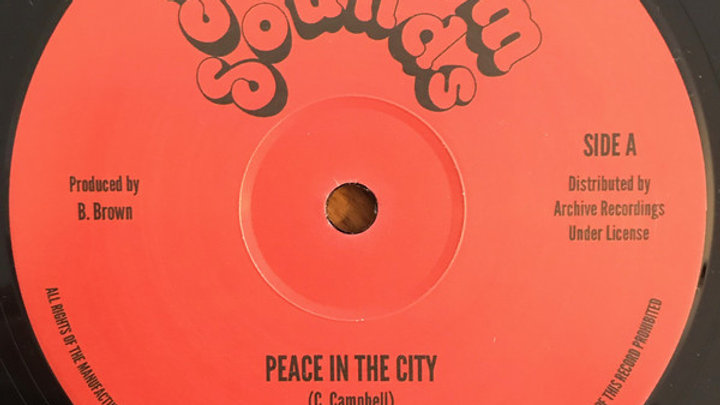 Cornell Campbell–Peace In The City