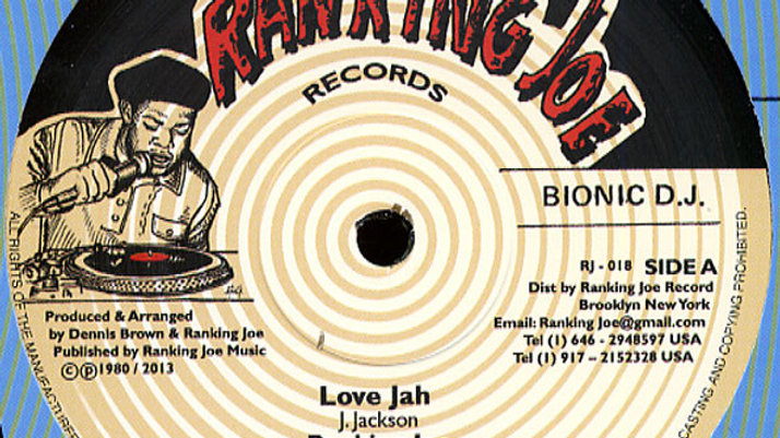 Ranking Joe–Love Jah