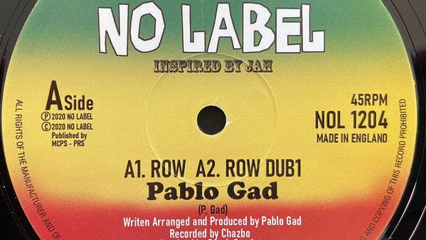 Pablo Gad–Row