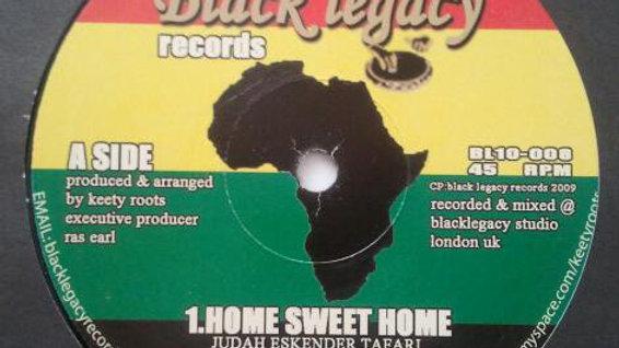 Judah Eskender Tafari/Keety Roots–Home Sweet Home / No Place Like Home
