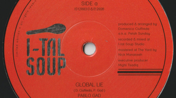 Global Lie / Master's Plan - Pablo Gad