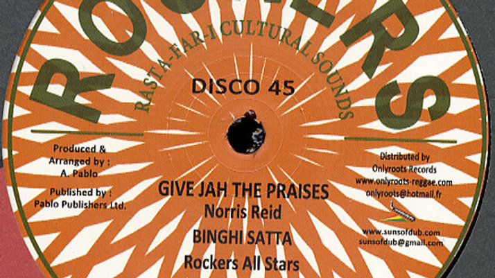 Give Jah The Praise - Norris Reid