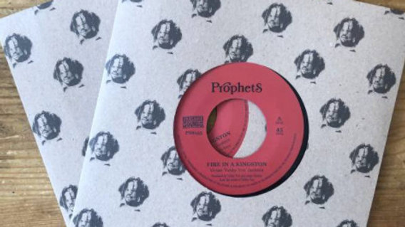 Yabby You&The Prophets–Fire In A Kingston