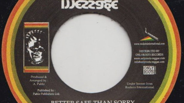 Bunny Brissett–Better Safe Than Sorry