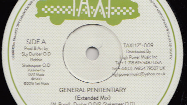 Black Uhuru ‎– General Penitentiary / Shine Eye Gal