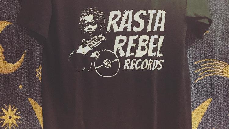 T-Shirt Rasta Rebel Records