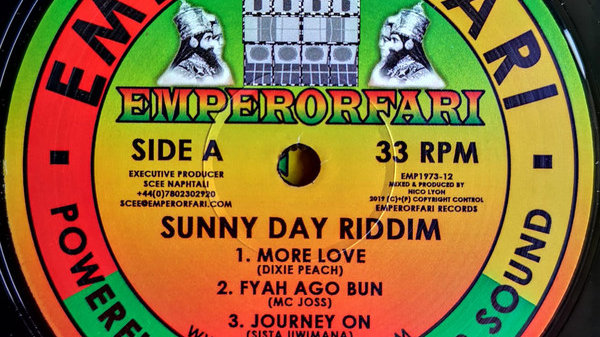 Sunny Day Riddim - Dixie Peach,Mc Joss,Sista Uwimana